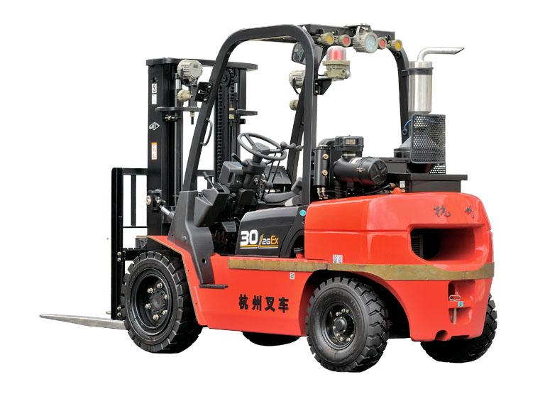 杭州叉车·R系列2-3.5吨内燃防爆叉车