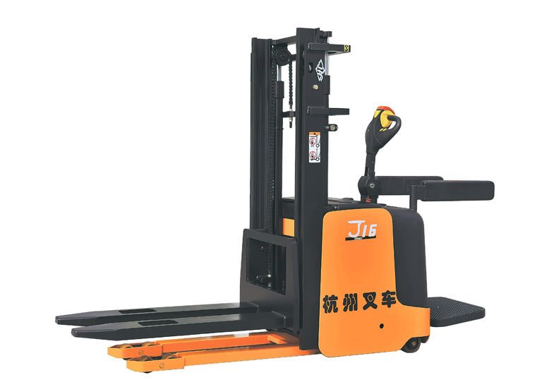 杭州叉车·J系列1-2吨电动堆垛车(站驾)
